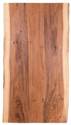 Hardwood Reflections 6 ft. L x 3 ft 2 in D x 1.5 in. T Butch