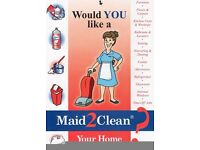 Glasgow Area - Do You Need an End of Tenancy Blitz Deep Clean - Call Maid2Clean Now