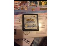 Pokemon soul silver DS game