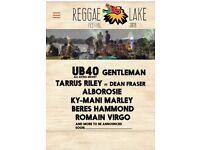 Reggae Lake 2 day festival, Amsterdam £50