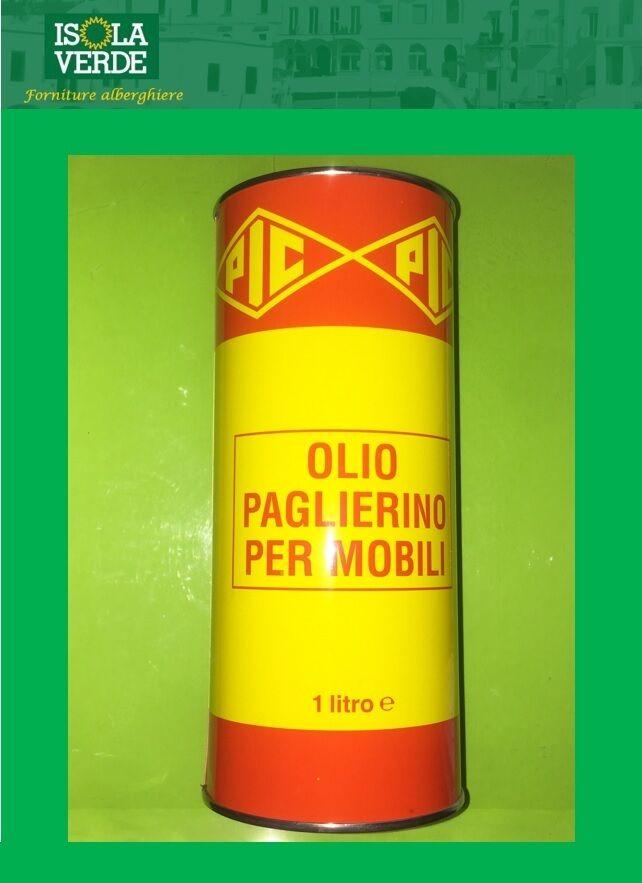 OLIO PAGLIERINO ROSSO LUCIDANTE PER MOBILI 0,500/1 LT PIC