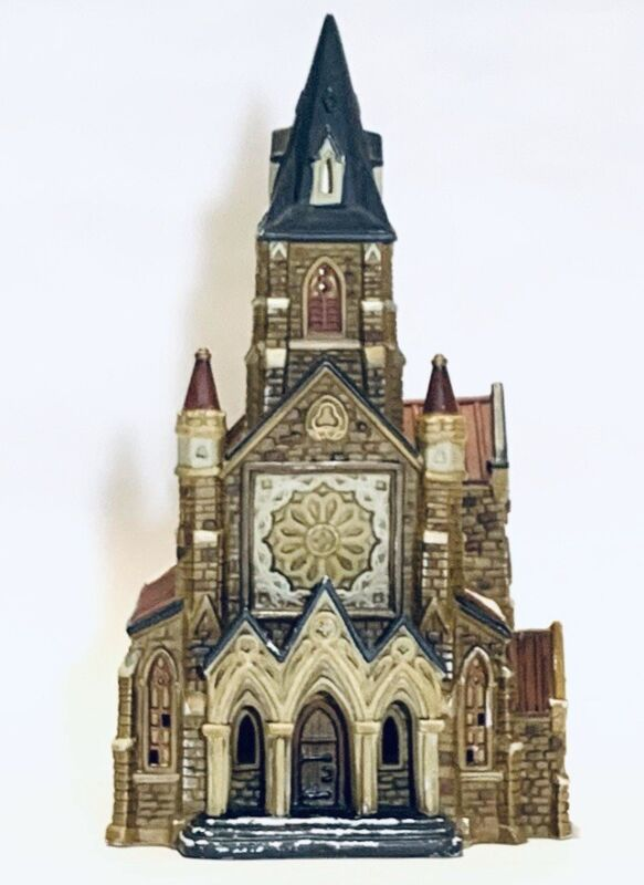 Vintage O'Well Cathedral Church Tea light House For Christmas Decoration