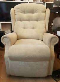Miracle Motion Dual Motor Riser Recliner with 5 Massage Zones (cost £2900)