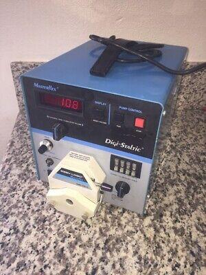 100 Rpm Masterflex Digi-staltic Peristaltic Pump With 7518-10 Pump Head