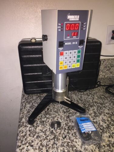 Brookfield DV-II LVTDV-CP Digital Cone Spindle Viscometer (Complete)