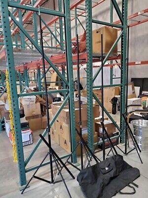 RPS Studio 10' Aluminum Light Stands/Back Drop Stands w/Adjustable Cross Bars!