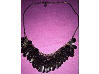 Oasis Black Necklace