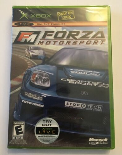 Forza Motorsport Microsoft Xbox, 2005 New Sealed - $9.99