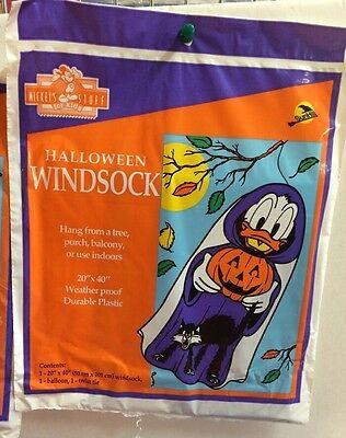 Donald Duck Halloween Windsock New Disney Windsock  - Halloween Windsock