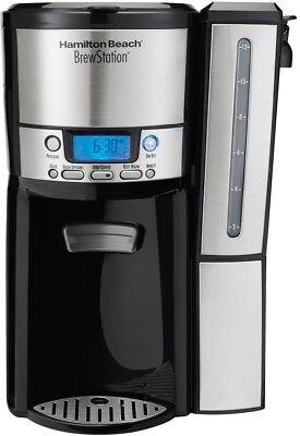 coffeemaker 12 cup dispensing programmable in black