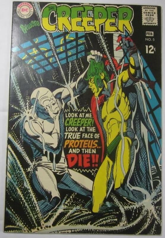 BEWARE THE CREEPER #5 FEB 1969 DC COMIC STEVE DITKO VF/NM 9.0