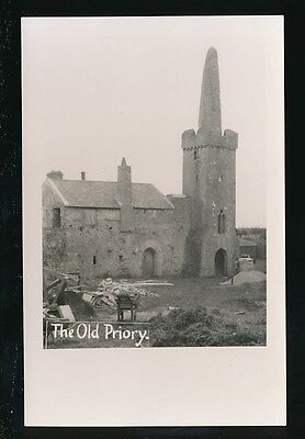 Wales Pembrokeshire Pembs CALDEY ISLAND Old Priory c1920/30s? RP PPC