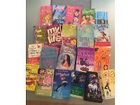 bundle of teen books (x21)