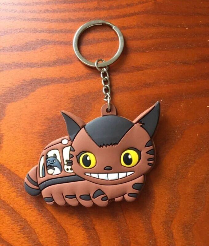 Studio Ghibli My Neighbor Totoro Catbus Keychain US Seller