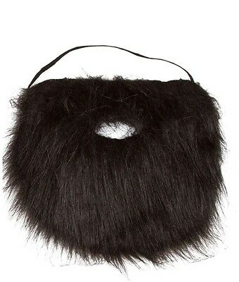 Adult OR KIDS Facial Hair Beard And Moustache Mustache Costume Accessory Black](Kids Mustache)