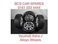 Vauxhall Astra J Set. Alloy wheel inc tyre.