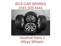 Vauxhall Astra. Alloy wheels. Full set inc tyre. Ask.