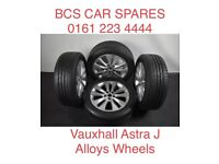 Vauxhall Astra j. Alloy wheels full set inc tyres. Ask. May Px.