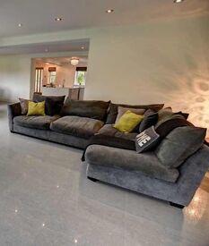 Barker and stonehouse grey sofa