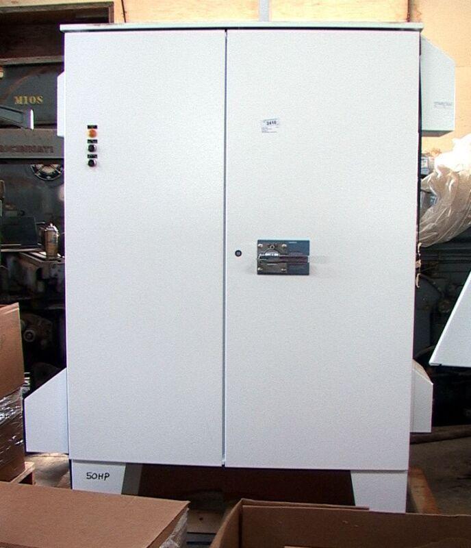 SED2 50HP Motor Control Center Inverter VFD, VSD, AFD +Bypass, line reactor,heat