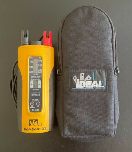 Ideal Vol-Con XL Voltage Continunity Tester Wiggy with Case (AC & DC) Free Ship!