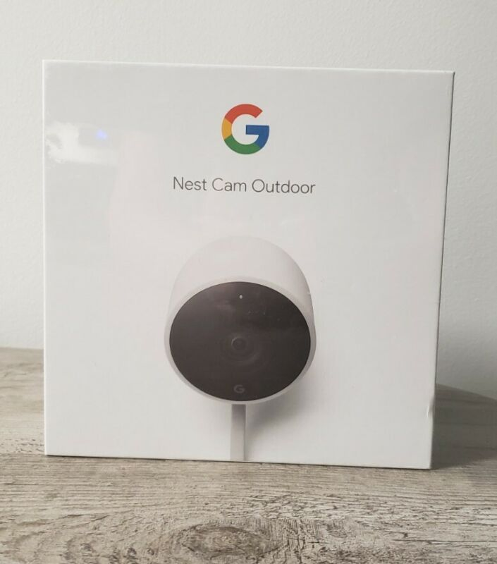 Nest NC2100ES Outdoor Security Camera New in Box Sealed