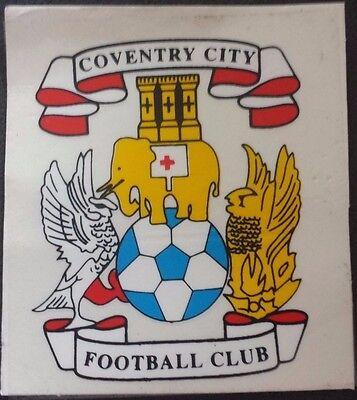 Coventry City Aufkleber Sticker, sehr selten ( 7,5 x 5,5cm )
