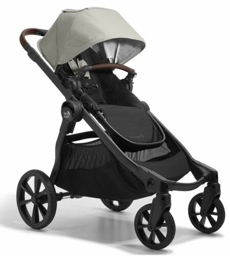 Baby Jogger City Select All Terrain Single Stroller Frosted Ivory NEW