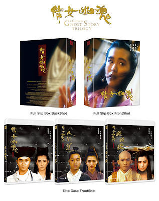 A Chinese Ghost Story Trilogy (2015, Blu-ray) Box Set