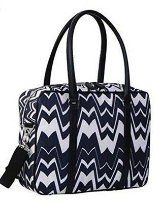 BNWT MISSONI For Target Black White zig zag Chevron Travel Tote Sold OUT 2011!