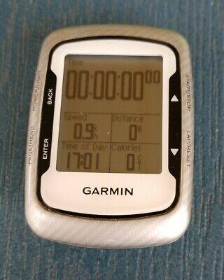Garmin Edge 500 - White with Black Trim