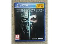 Dishonored 2 PS4 played once