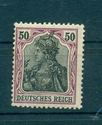 "GERMANIA - GERMANY DEUTSCHES REICH 1905 ""Germania"" mI. 91 Ix 50Pf Common Stamps"