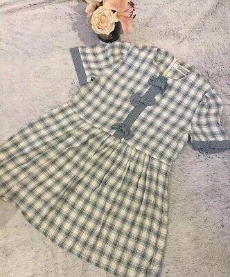 Vintage Jessica Howard Summer Dress UK 12/14 Abstract Print Design M L