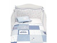 Boys Mothercare brand new never used 5 piece bedding set.