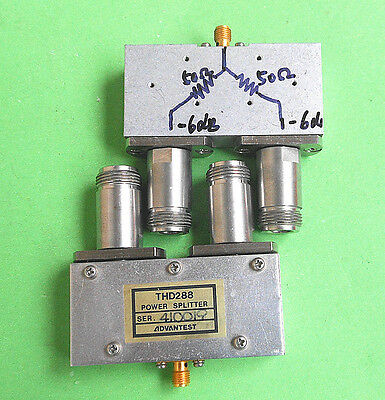 1pc ADVANTEST THD288 DC-8GHz Power distributor