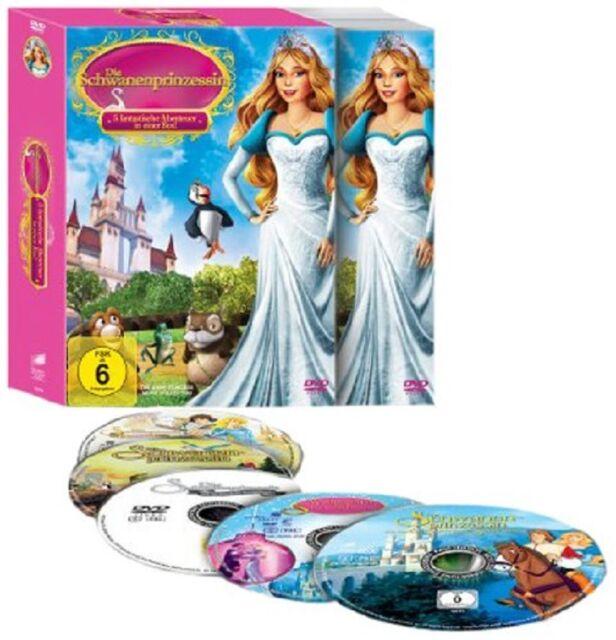 5 DVDs * Die Schwanenprinzessin Gesamtbox * NEU OVP