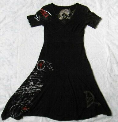 Magnifique robe longue desigual noire taille s en tres bon etat