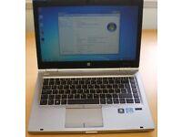 HP Elitebook 8470p laptop with docking station