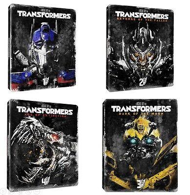 Transformers 10 years Blu Ray Digital HD Collectible STEELBOOK NEW