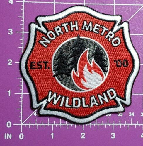 North Metro Colorado Wildland Firefighting patch