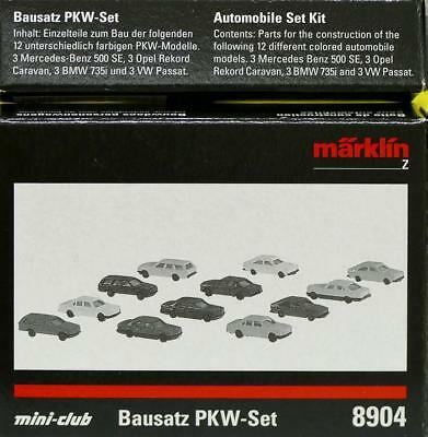 "Märklin 8904 Z - PKW- Set "" Inhalt: 12 Fahrzeuge "" NEU & OvP"