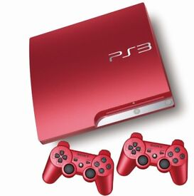 red playstation 3
