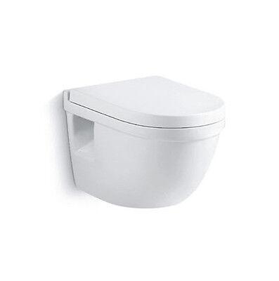 Burgtal Keramik Hänge Wand WC Toilette Schüssel inkl.abnehmbarem WC Sitz BWC-07.