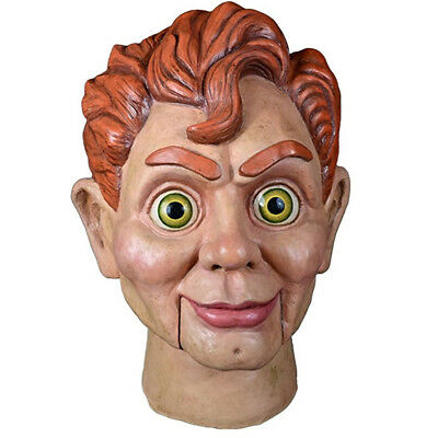 Goosebumps Halloween Mask (Trick or Treat Goosebumps Slappy the Dummy Realistic Halloween)