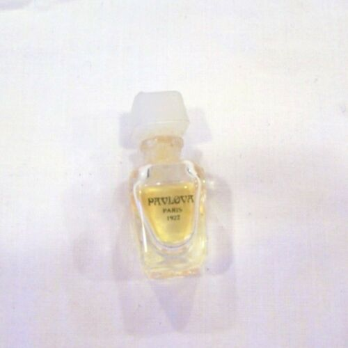 Pavlova Paris 1922 miniature perfume bottle, empty