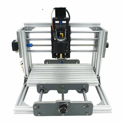 Mini Cnc Milling Machine Engraving Diy Router Kit 500mw Laser Engraver