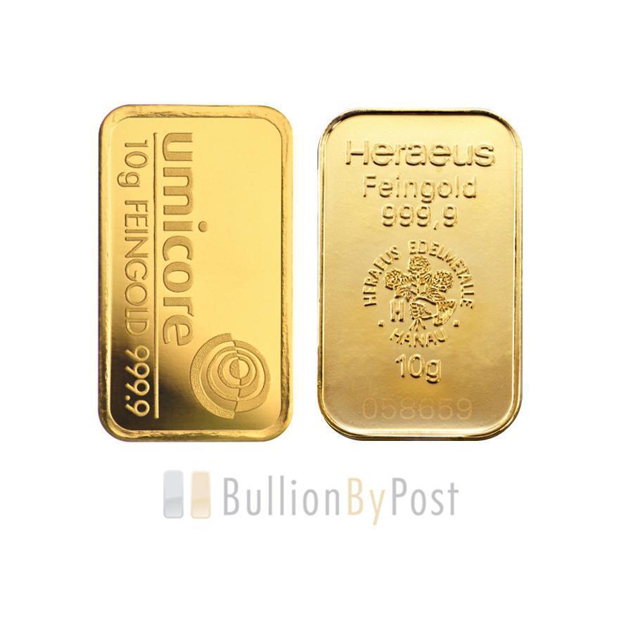 10 Gram Gold Bar Best Value Ebay