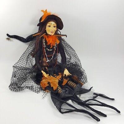 Katherine's Collection Halloween Baba Yaga Witch Doll 30 - 38 Inches! ](Baba Yaga Halloween)