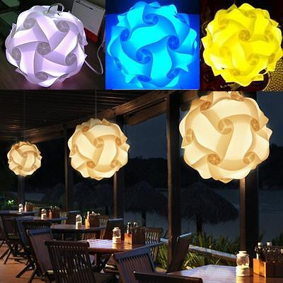 30 X Fashion Pendant Ceiling Lampshade Retro IQ Light Shade Jigsaw lightweight